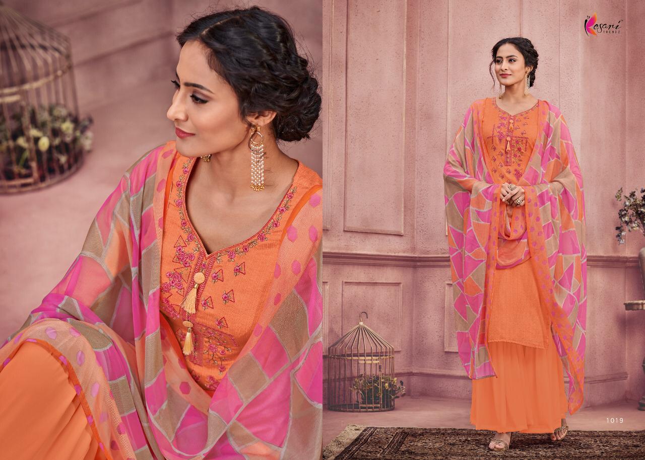 e19cc66b25 Kesari Trendz Alisa Vol-3 1019-1026 Series At Wholesale Price Surat ...