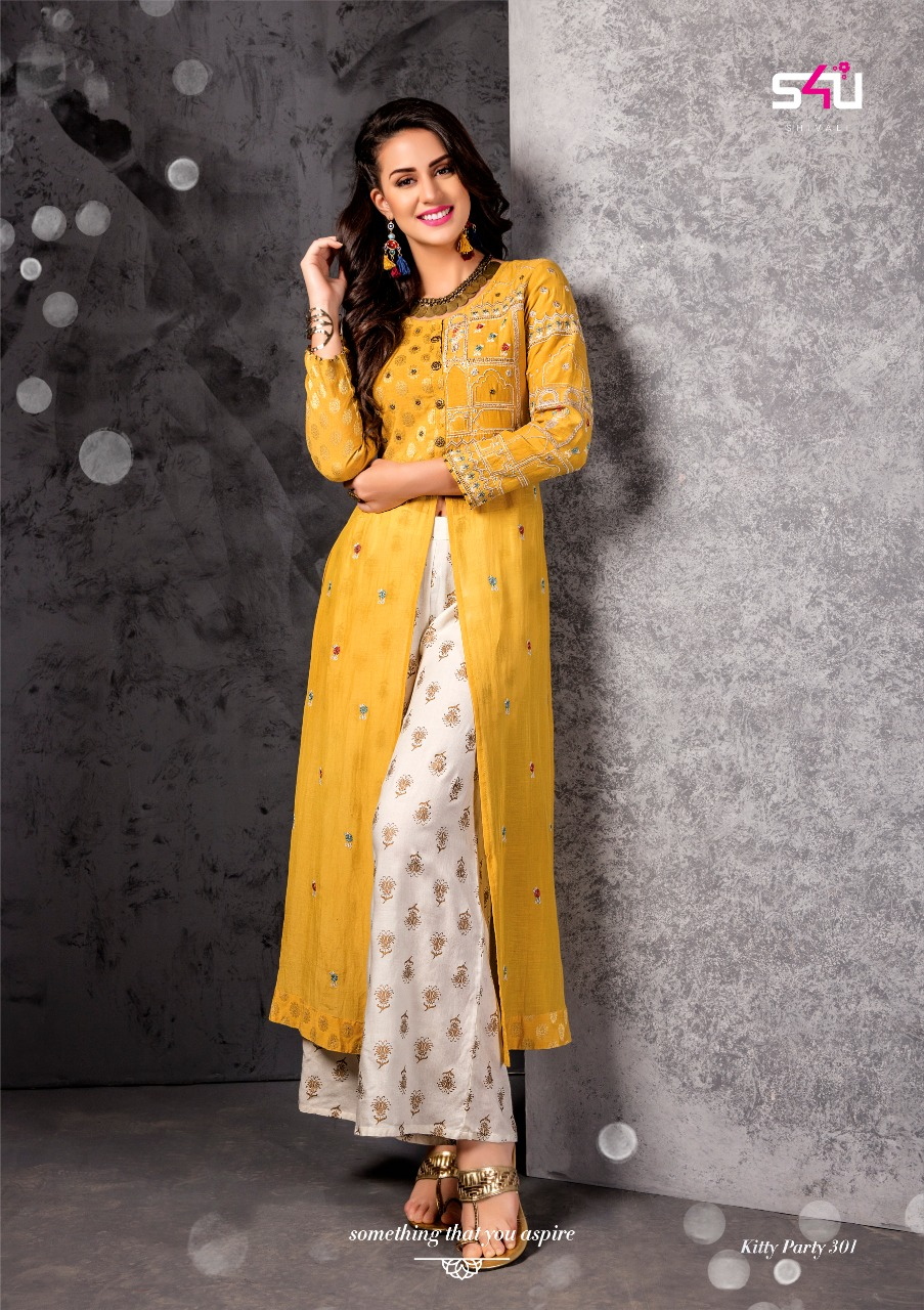 cf9461fdab S4U Shivali Kitty Party Vol-3 301-308 Series Wholesale Price Surat ...