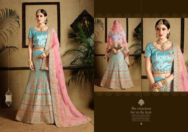 AD Zara Wedding Lehenga Choli 1301-1304 Series