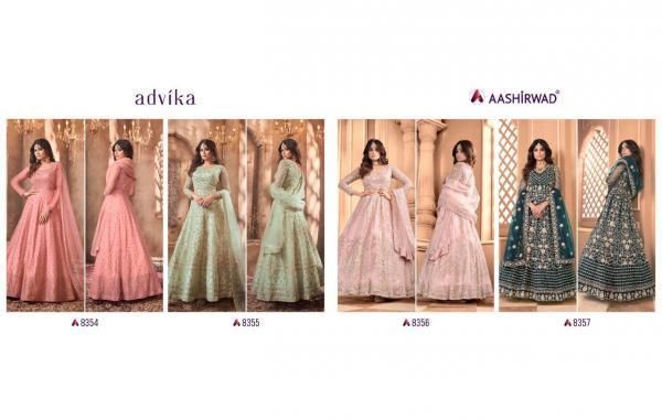 Aashirwad Creation Advika 8354-8357