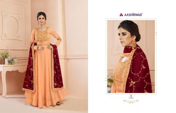 Gulkand Misty By Aashirwad Creation 7107-7111 Series Wholesale