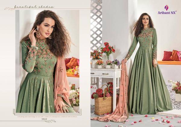 Arihant Designer Vamika Rizwanna Vol-4 5022-5027 Series Wholesale