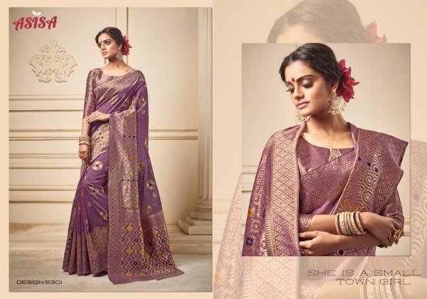 Asisa Saree Poorvi 5301-5306 Series