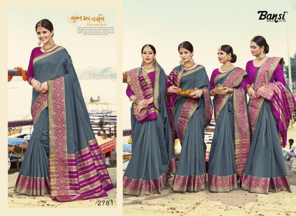 Bansi Fashion Kanjivaram Silk 2781-2792 Series