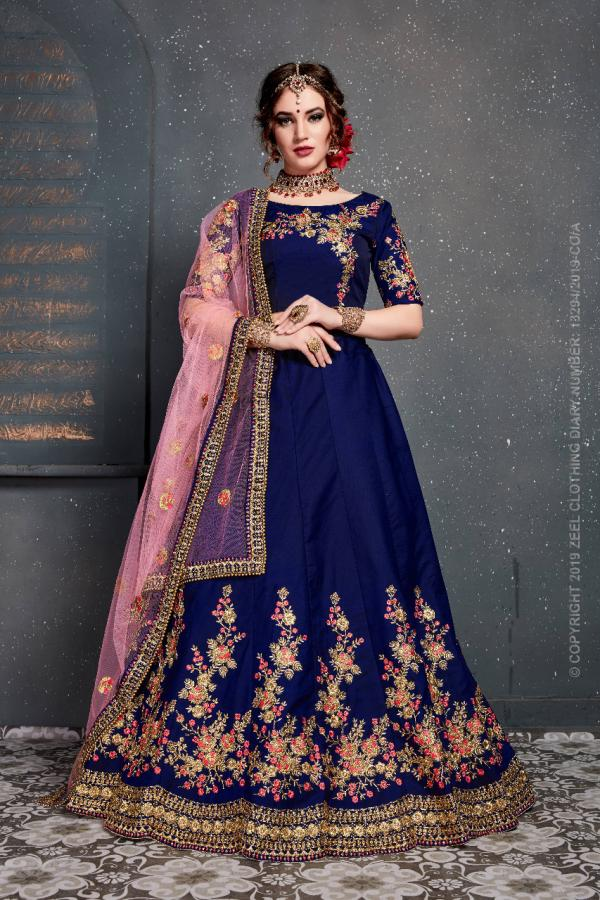 Designer Bridal Lehenga Choli PC 7205