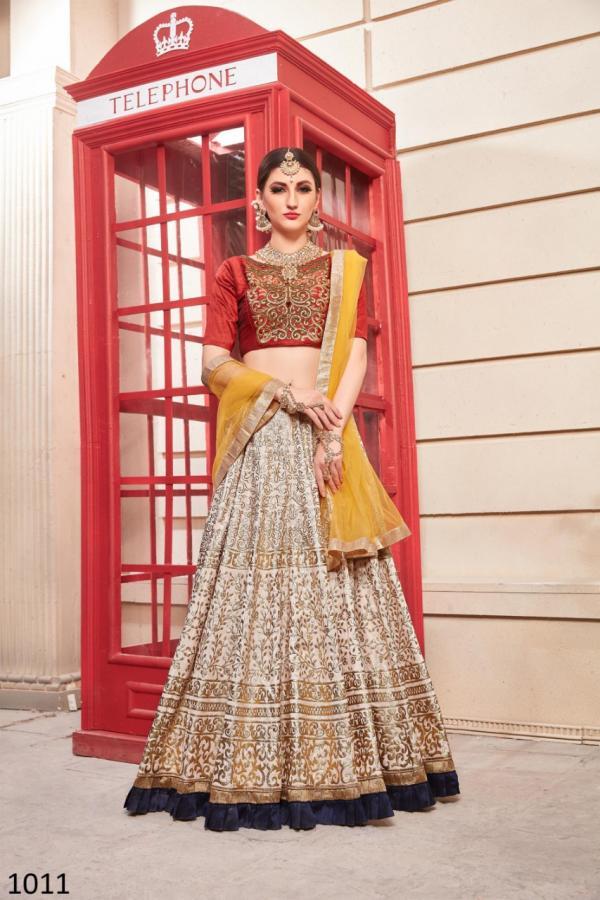 Diva Exports Designer Girly Lehenga 1011-1018 Series