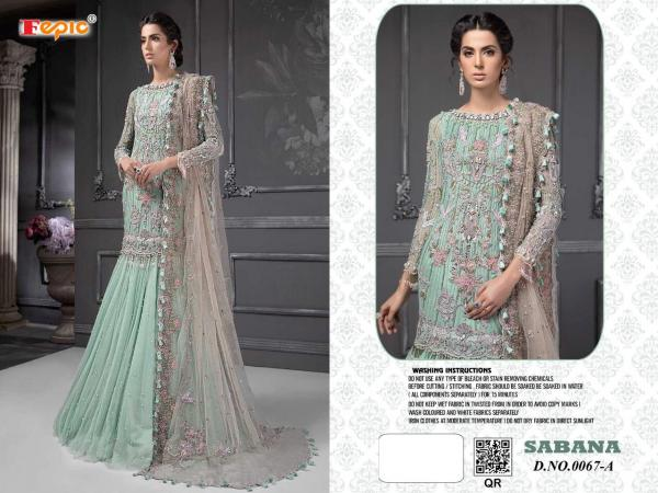 Fepic Sabana Sanober Blockbuster 067 Colour Series Wholesale Surat