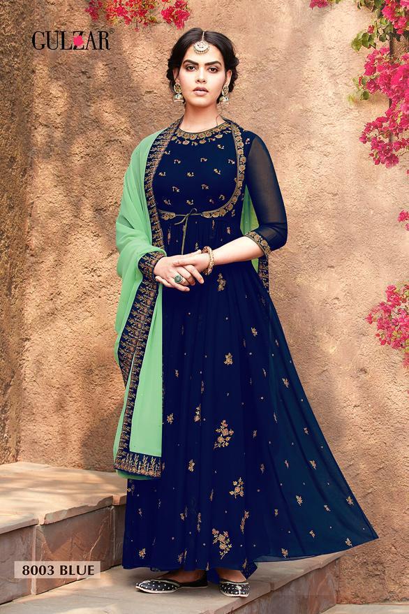 Gulzar Couture Rahemat 8003 Colour Wholesale
