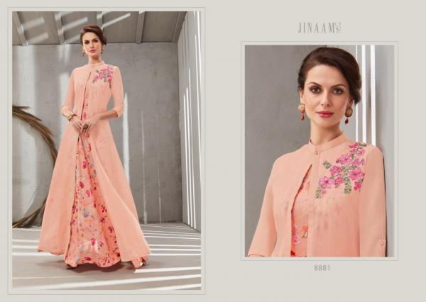 Jinaam Dress Rosy 8881-8886 Series