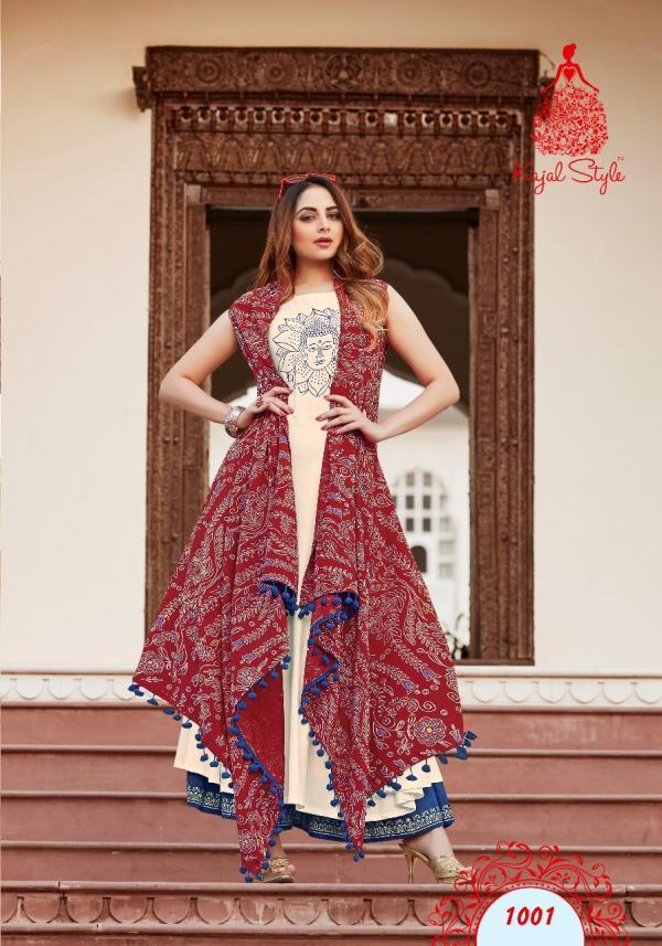 Kajal Style Fashion Lakme Vol-1 1001-1008 Series