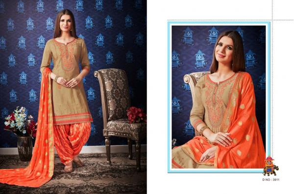 Kessi Fabric Shangar By Patiala House Vol-8 3911-3922 Series