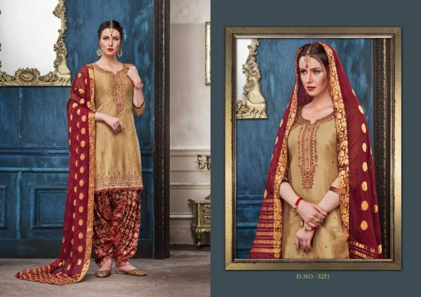 Kessi Fabrics Shangar By Patiala House Vol-14 5251-5258 Series