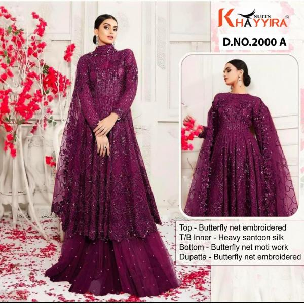 Khayyira Suits Amaira 2000 Colour Series Wholesale Surat