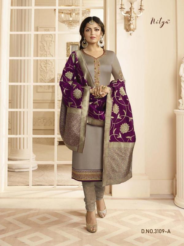 LT Fabrics Nitya 3109 Colors Premium Quality
