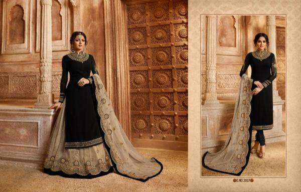 LT Fabrics Nitya Vol-130 3007 Colors Premium Quality