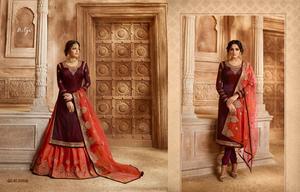 LT Fabrics Nitya Vol-130 3008 Colors Premium Quality