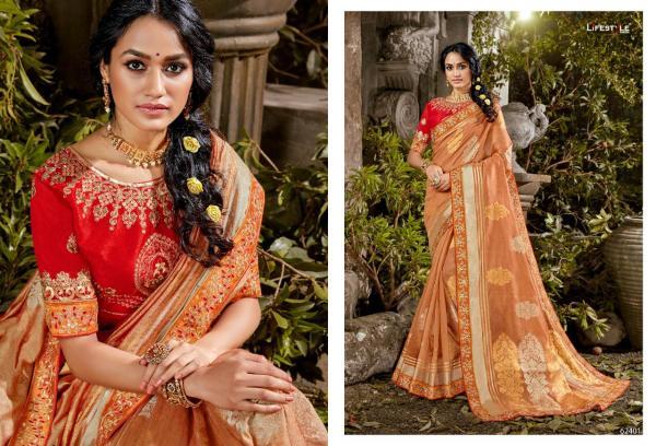 Lifestyle Saree Roopwati 62401-62406 Series