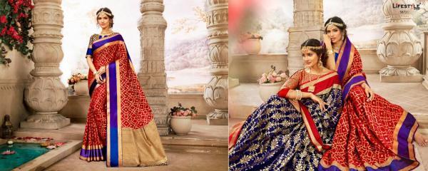 Lifestyle Saree Sajawat Vol-2 58721-58726 Series