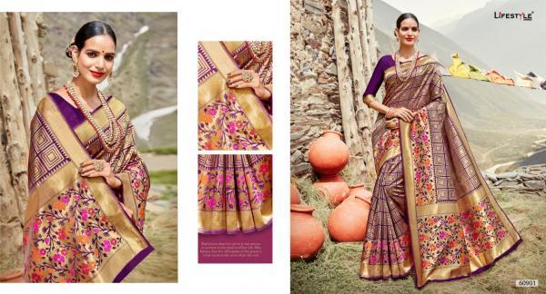 Lifestyle Saree Shivalika 60901-60906 Series