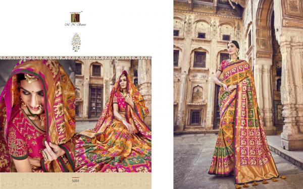 MN Sarees Resham Dhaga Vol-2 5201-5210 Series