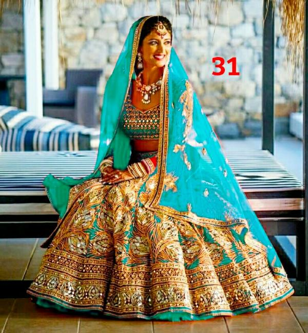 MS Trends 31 Bridal Wear Silk Lehenga Choli