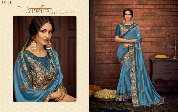 Mahotsav Saree Nayonika Tishya 13401-13417 Series