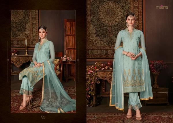 Zara By Maisha Maskeen 8201-8208 Series Wholesale