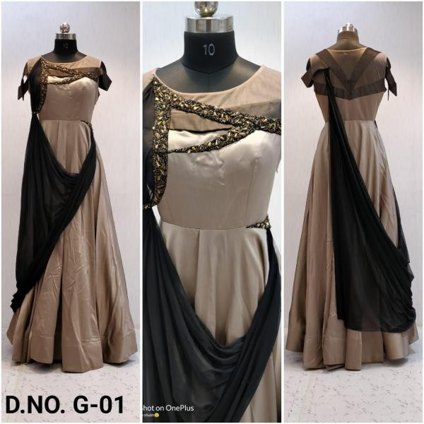 Naree Festive Gown G01-G05 Series