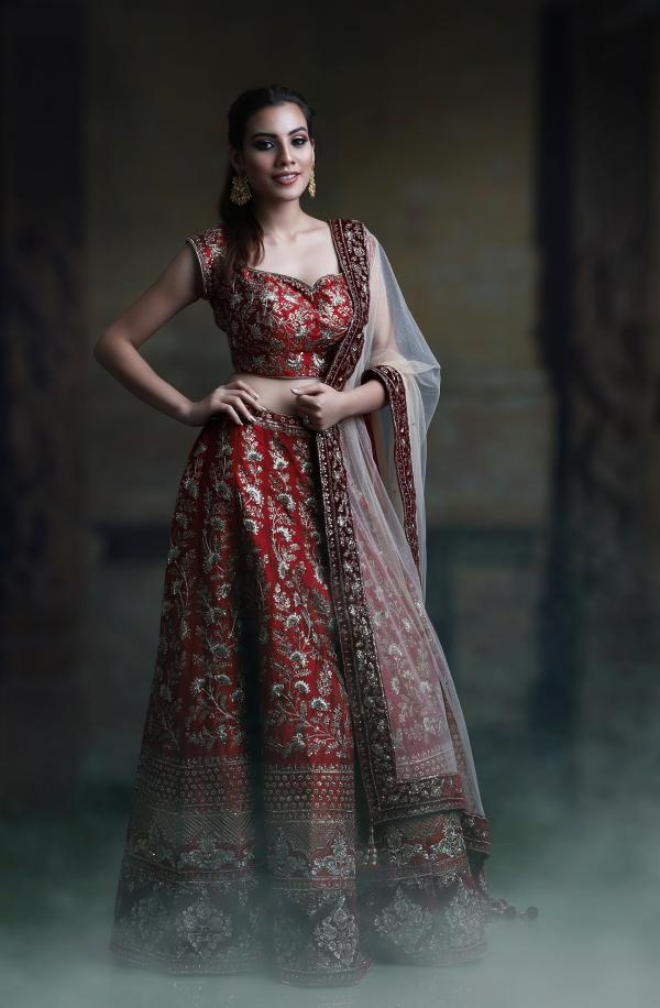 PC 40 Designer Bridal Lehenga Choli