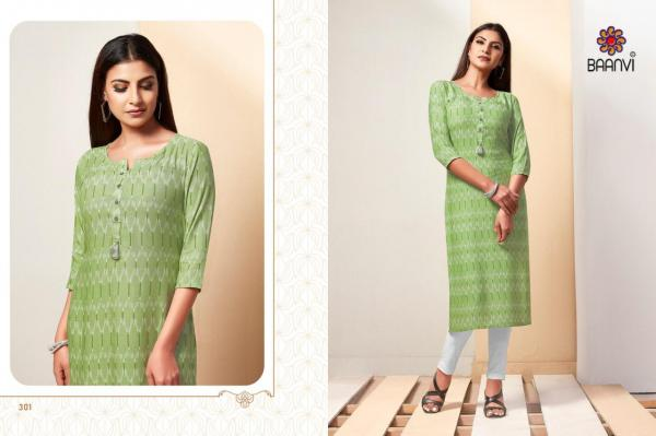R Studio Baanvi Ikat Vol-3 301-306 Series