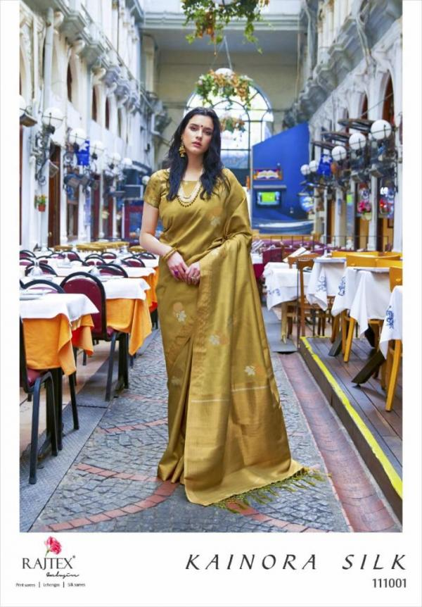Rajtex Saree Kainora Silk 111001-111006 Series