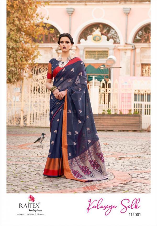 Rajtex Saree Kalasiya Silk 112001-112006 Series