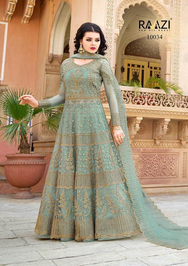 Rama Fashions Raazi Aroos 10034 Colour Plus