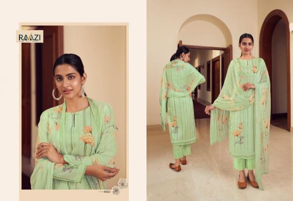 Rama Fashions Raazi Mehar 4003
