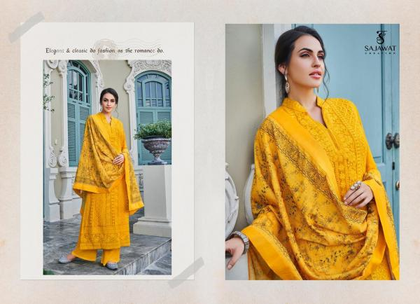 Sajawat Creation Lakhnavi Vol-2 1081-1086 Series Wholesale
