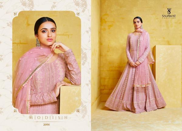 Sajawat Creation Meraki 2091-2094 Series Wholesale