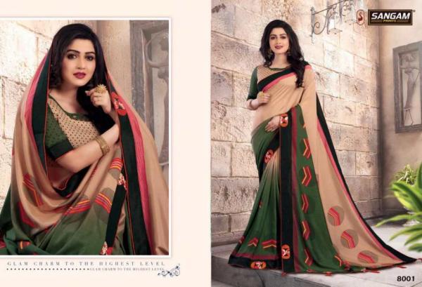 Sangam Prints Bela 8001-8008 Series