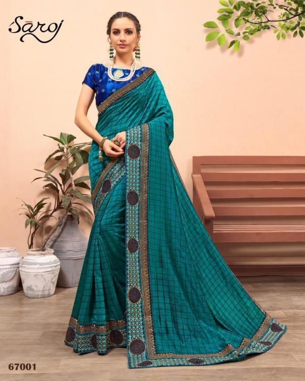 Saroj Saree Nakshita 67001-67006 Series