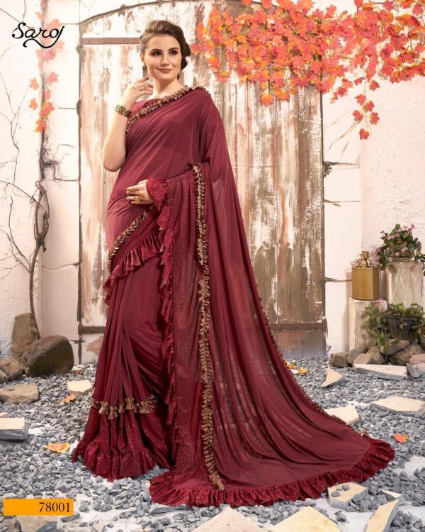 Saroj Saree Sandalwood Vol-2 78001-78006 Series
