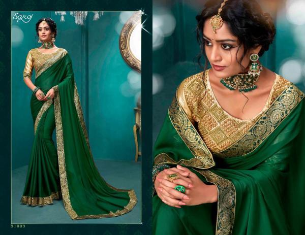 Saroj Saree Vritika Vol-2 91009-91016 Series