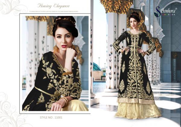 Senhora Dresses Mirza Vol-11 11001-11004 Series