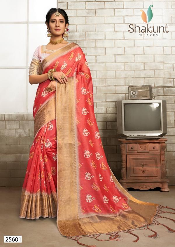 Shakunt Saree Venus 25601-25603 Series