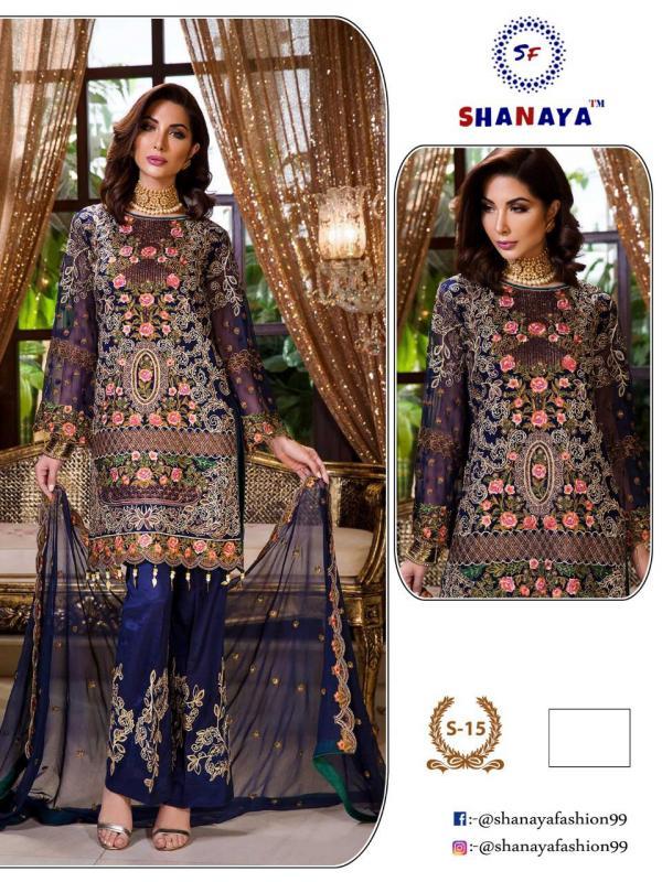 Shanaya Fashion S-15 Colors Wholesale