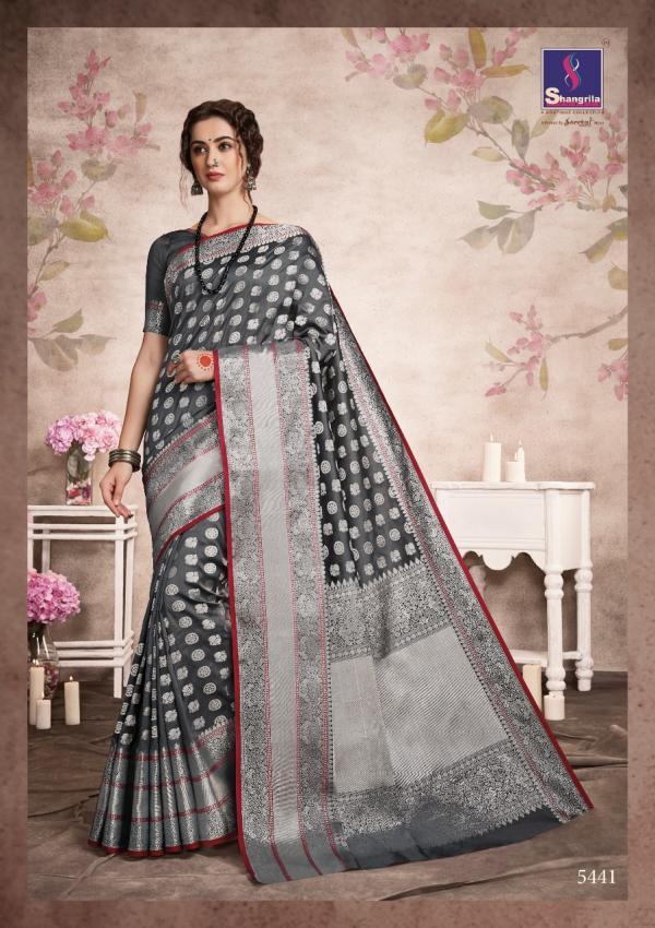 Shangrila Saree Aashna Silk 5441-5450 Series