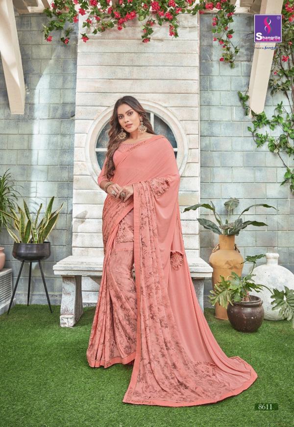Shangrila Saree Alisha 8611-8618 Series