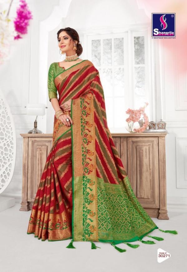Shangrila Saree Jeevika Silk Vol-3 30271-30276 Series