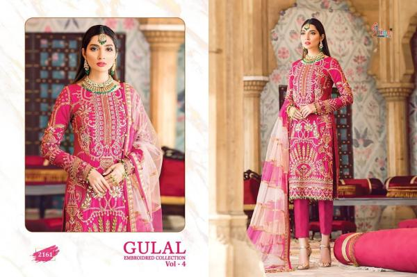 Shree Fabs Gulal Embroidered Collection Vol-4 2161-2166 Series Wholesale