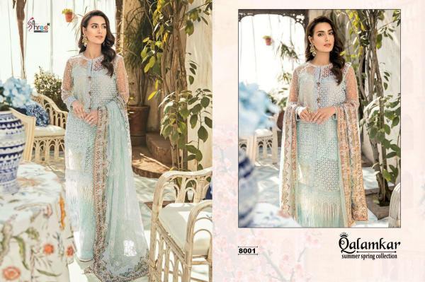 Shree Fabs Qalamkar Summer Spring Collection 8001-8005 Series