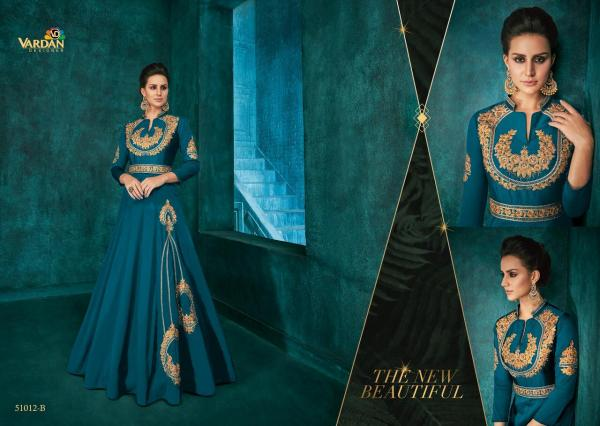 Vardan Designer Rozi Gold Vol-1 51012 Colors