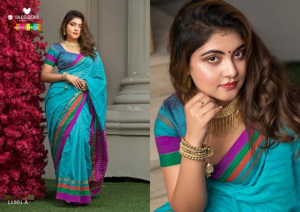 Varsiddhi Fashion Mintorsi Keshar Cotton 11901-11906 AB Series